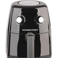 GOURMETmaxx Heißluft-Fritteuse XL schwarz