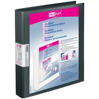 Veloflex Präsentationsringbuch VELODUR 1143180 A4, 2-Rg 25mm sw