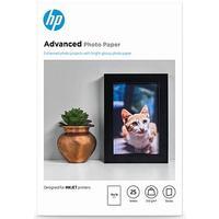 HP Fotopapier Weiß Glanz