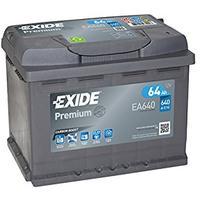 Exide EA640 Premium Carbon Boost Autobatterie
