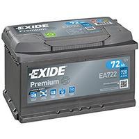 Exide EA722 Premium Carbon Boost Autobatterie