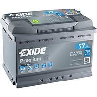 Exide EA770 Premium Carbon Boost Autobatterie