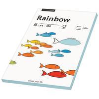 Rainbow Farbpapier A4 80 g/m2 100 Blatt mittelblau