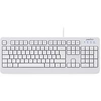 Perixx PERIBOARD-517W DE USB Tastatur Deutsch, QWERTZ Weiß