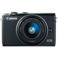 Canon EOS M100 schwarz + EF-M 15-45 mm IS