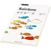 Rainbow Farbpapier A4 80 g/m2 100 Blatt hellchamois