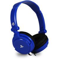 4Gamers PS4/PS Vita PRO4-10 Stereo Gaming Headset blau