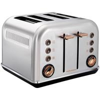 Morphy Richards Accents 4 Schlitz Rose Gold