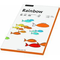 Rainbow Farbpapier A4 80 g/m2 100 Blatt intensivorange