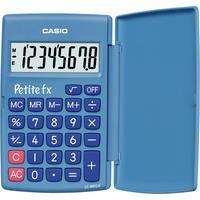 Casio Petit-FX Wissenschaftlicher Taschenrechner blau