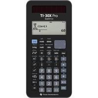 Texas Instruments TI-30X Pro MathPrint Schulrechner Schwarz Display (Stellen):