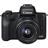 Canon EOS M50 schwarz + EF-M 15-45 mm IS