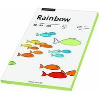 Rainbow Farbpapier A4 80 g/m2 100 Blatt leuchtend grün