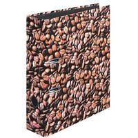Herlitz Motivordner Kaffee, A4, 80mm