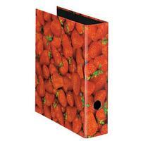 Herlitz Motivordner A4, 80mm Erdbeeren,