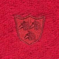 ROSS Vita Waschhandschuh 16 x 22 cm kirsche