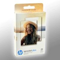 HP Sprocket Plus ZINK Fotopapier 2LY72A 5,8x8,7cm 20 Blatt