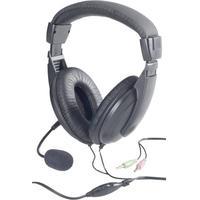 Basetech BT-260A PC-Headset schwarz