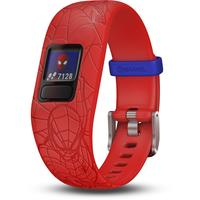 Garmin vivofit jr. 2 Spider-Man rot