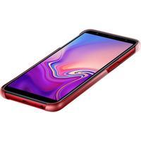 Samsung Gradation Cover EF-AJ610 für Galaxy J6+ rot