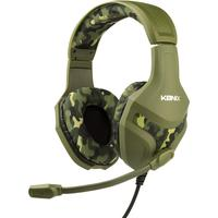 Konix PS-400 Gaming Headset 3.5mm Klinke schnurgebunden Over Ear