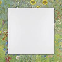 Home affaire Spiegel Klimt, G.: Garten mit Sonnenblumen (1-St)