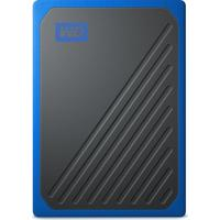 Western Digital My Passport Go 500GB USB 3.0 schwarz/blau