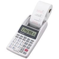 Sharp EL-1611V Taschenrechner Desktop Finanzrechner Grau, Weiß