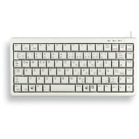 Cherry Compact-Keyboard G84-4100 DE hellgrau (G84-4100LCMDE-0)