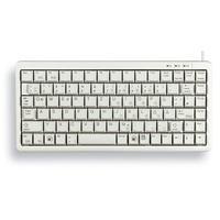 Cherry Compact-Keyboard G84-4100 US hellgrau (G84-4100LCMEU-0)