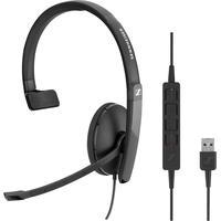 Sennheiser SC 130 USB Mono, schnurgebunden On Ear Schwarz