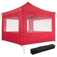 TecTake Faltpavillon 3 x 3 m inkl. 4 Seitenteile