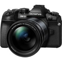 Olympus OM-D E-M1 Mark II schwarz + ED 12‑200