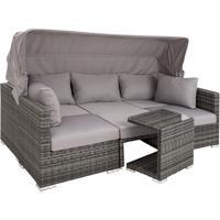 TecTake San Marino Lounge-Set grau
