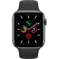 Apple Watch Series 5 (GPS) 44mm Aluminiumgehäuse Space Grau,