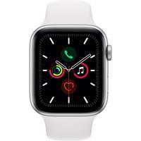 Apple Watch Series 5 GPS 44 mm Aluminiumgehäuse silber,