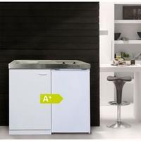 Respekta Miniküche mit Kühlschrank,