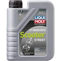 LIQUI MOLY 2-Takt Motoröl 2T Semisynth Scooter Street 1
