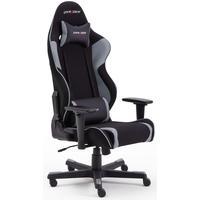 MCA Furniture Chefsessel DX-Racer R2 - Kunstleder Schwarz-Grau