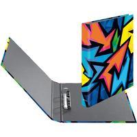 Herlitz Neon Art Ringmappe A4 Mehrfarben