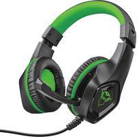 Trust GXT 404G Rana Gaming Headset schwarz/grün