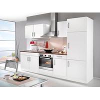 Held Küchenzeile Toronto 270 cm weiß / nussbaumfarben