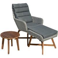Garden Pleasure Calvia Lounge-Set grau