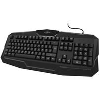Hama uRage Exodus 100 Gaming Tastatur DE schwarz (00186041)
