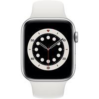 Apple Watch Series 6 GPS 44 mm Aluminiumgehäuse silber,