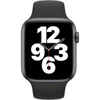 Apple Watch SE GPS 44 mm Aluminiumgehäuse space grau,