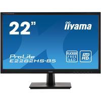 Iiyama ProLite E2282HS-B5 LED-Monitor Schwarz FullHD, TN-Panel, Lautsprecher