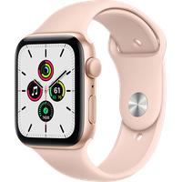 Apple Watch SE GPS 44 mm Aluminiumgehäuse gold, Sportarmband