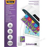 Fellowes Laminierfolien Enhance A4 80 mic