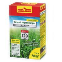 WOLF-Garten LE 50 Premium Rasen-Langzeitdünger 120 Tage 1 kg